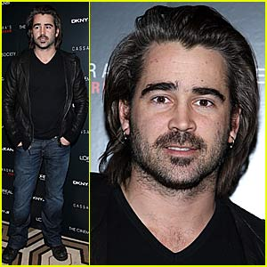 Colin Farrell's Scruffy Appeal
