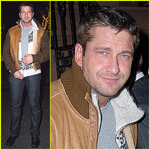 Gerard Butler @ Waverly Inn