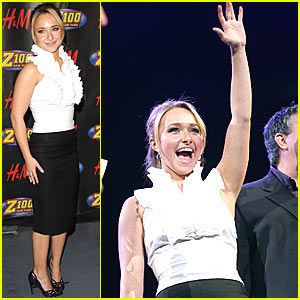 Hayden Panettiere Rocks Jingle Ball