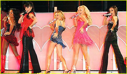 Spice Girls World Tour Rehearsals