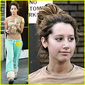 Ashley Tisdale's Coffee Bean Break