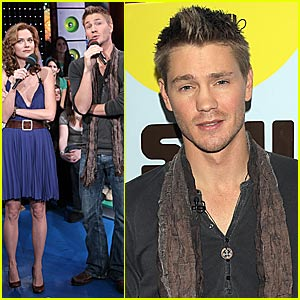 Chad Michael Murray @ TRL