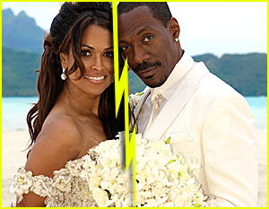 Eddie Murphy & Tracey Edmonds Split