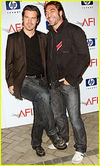 Javier Bardem @ AFI Awards 2008