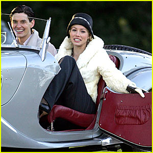 Jessica Biel's Easy Virtue -- First Pictures!