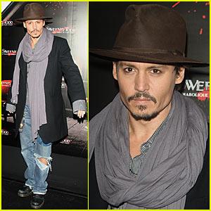 Johnny Depp is a Paris Person