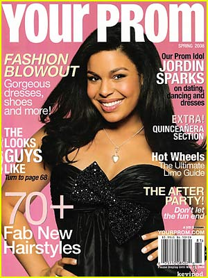 Jordin Sparks is Prom Queen