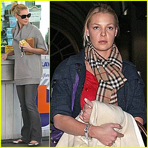 Katherine Heigl is Still a Chain Smoker