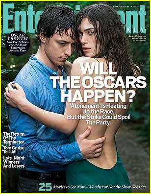 Keira Knightley & James McAvoy Do 'Entertainment Weekly'