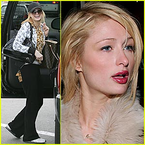 Paris Hilton is a Backstreet Girl