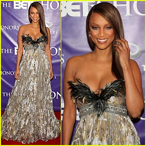 Tyra Banks @ BET Honors 2008