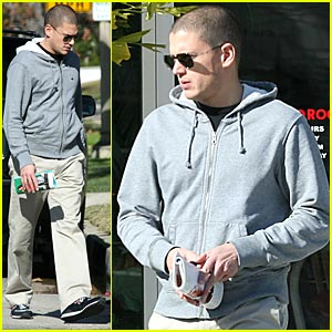 Wentworth Miller is Koo Koo Roo