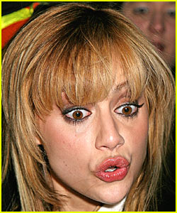 Brittany Murphy Puckers Up