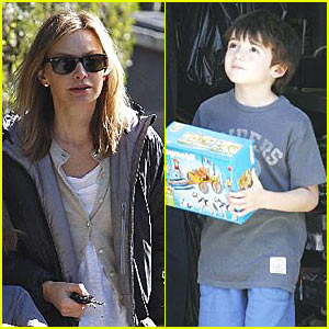 Calista Flockhart is Toy Crazy