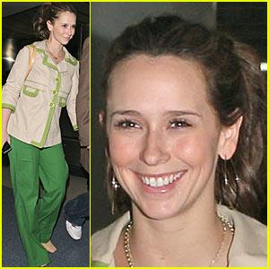 Jennifer Love Hewitt Feelin' Green