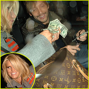 Jessica Simpson is a Sugar Mama