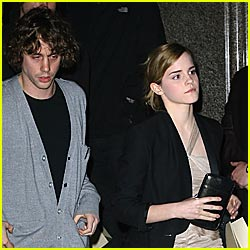 Emma Watson: I'm Not Dating Johnny Borrell
