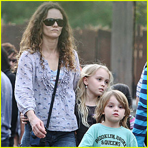 Johnny Depp's Kids Do Disneyland