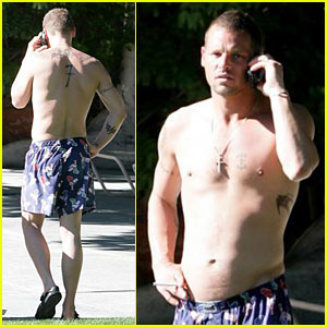 Justin Chambers Gets in Some Rest &#038; Relaxation