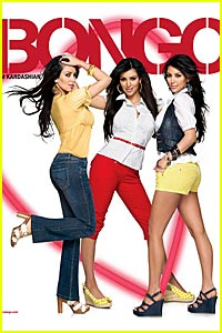 Kim Kardashian is a Bongo Babe