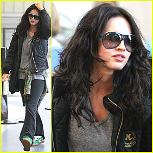 Megan Fox is a Jetsetter