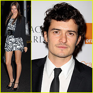 Orlando Bloom & Miranda Kerr Heating Up London