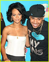 Chris Brown & Rihanna are Pool Playmates