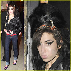 Amy Winehouse is Fendi Fierce