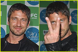 Gerard Butler Has an Evil Twin