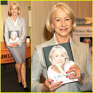 Helen Mirren Gets Framed