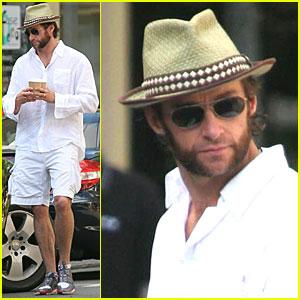 Hugh Jackman is a Straw Hat Hottie