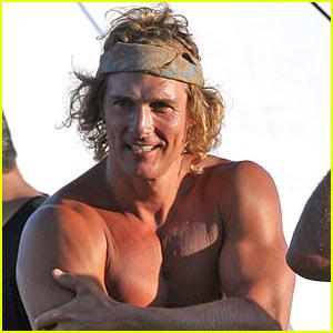 Matthew McConaughey Hangs Ten for Clothing Line