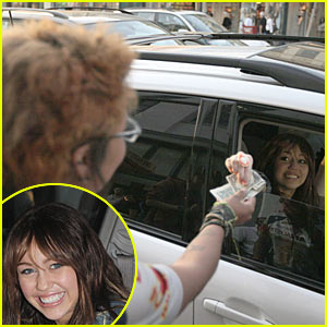 Miley Cyrus' Big Give