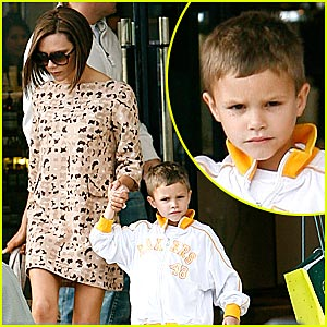 Romeo Beckham Does Barneys