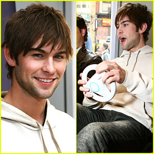 Chace Crawford Takes the Wheel