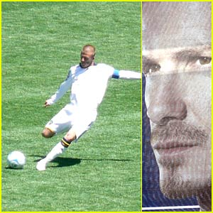 David Beckham's Galaxy Shattered