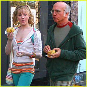 Evan Rachel Wood Dating Larry David?