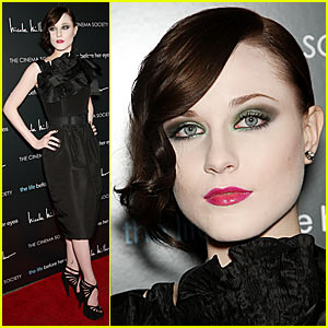 Evan Rachel Wood Has Life Before Her Eyes