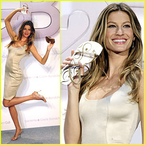 Gisele Bundchen: Get Down With G2B