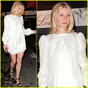 Gwyneth Paltrow Hits Up Jay-Z's Wedding