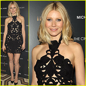 Gwyneth Paltrow is See-Worthy in See-Through