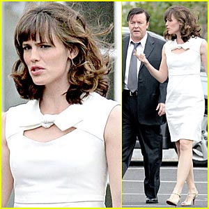 Jennifer Garner Teams Up With Ricky Gervais