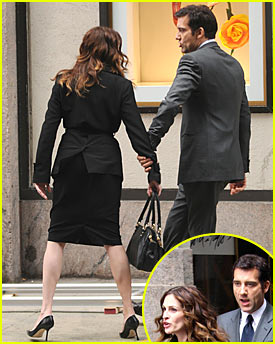 Julia Roberts & Clive Owen Get Into a Fight
