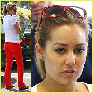 Lauren Conrad Has Flower Power