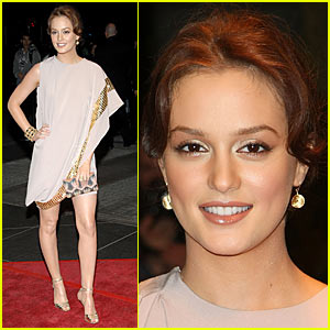 Leighton Meester Celebrates New Year's in April
