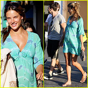 Alessandra Ambrosio is a Malibu Mommy-To-Be