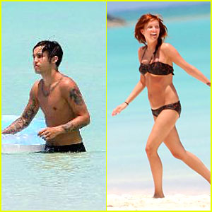 Ashlee Simpson's Honeymoon Highlights