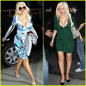 Christina Aguilera's Colorful Scents