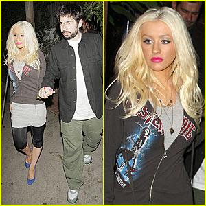 Christina Aguilera Prepares to Inspire