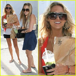 Lauren Conrad and Stephanie Pratt are Boba Buddies